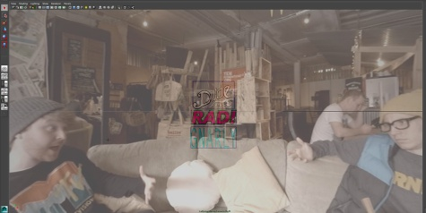 Footage brought into Maya © Retinize